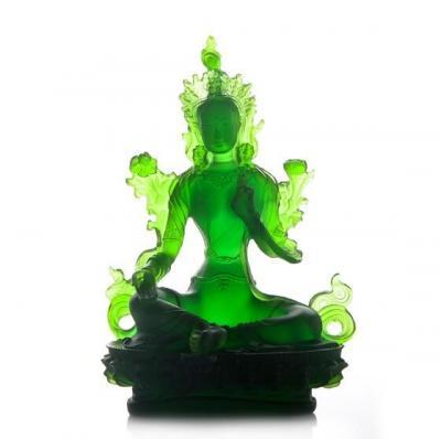 Статуя Зеленая Тара, 21 см