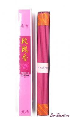 Аромапалочки  Роза, безосновные, 25см, Китай