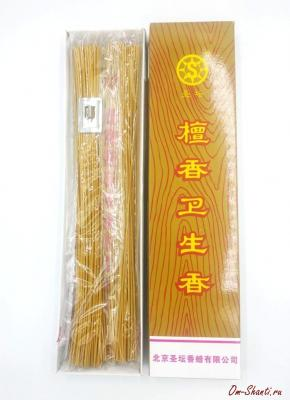 Аромапалочки Чистый Сандал, 25см, Китай