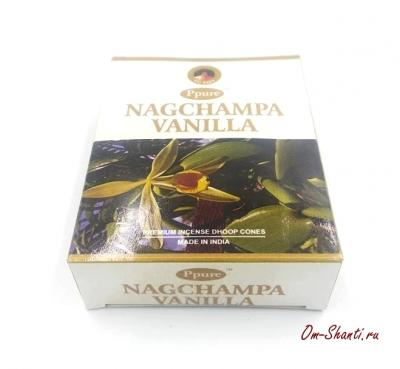 Благовония Конусы Vanilla, Ваниль, Ppure