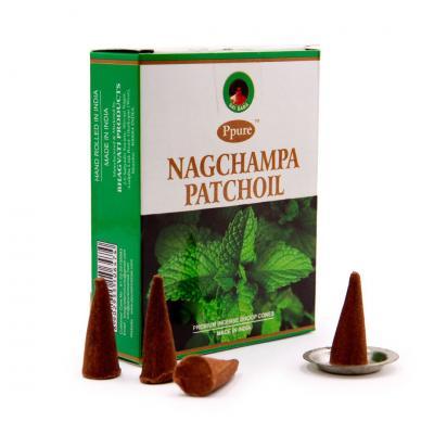 Благовония Конусы Patchouli, Пачули, Ppure