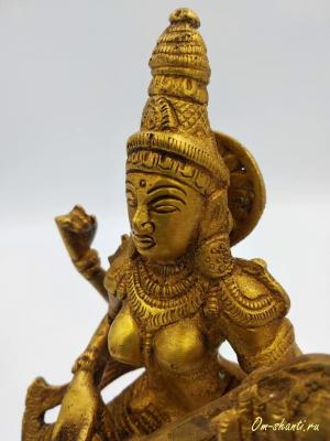 Сарасвати в танце, бронза, h-25см, Индия