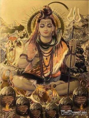 Изображение Шивы, 30х21 см, Индия