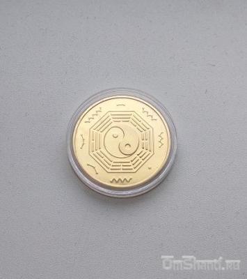 Монета с изображение Лакшми, Фен Шуй (богатство)